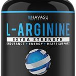 Extra Strength L-Arginine – 1200mg Nitric Oxide Booster for Muscle Growth, Vascularity & Energy | Cardio Heart Supplement With L-Citrulline | Essential Amino Acids To Train Longer & Harder