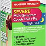 Robitussin Severe CF Maximum Strength Cough, Cold, & Flu Nighttime Medicine (4 fl. oz. Bottle)