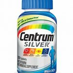 Centrum Silver Men Multivitamin / Multimineral Supplement Tablet, Vitamin D3, Age 50+ (200 Count)