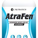 Nutratech Atrafen Powerful Fat Burner and Appetite Suppressant Diet Pill System for Fast Weight Loss, 60 Capsules
