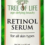 ToLB Retinol Serum – 72% Organic – Clinical Strength Retinol Moisturizer – Anti Aging Anti Wrinkle Facial Serum – 1 ounce