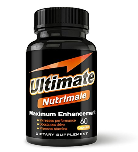 Ultimate Nutrimale - The Ultimate Male Enhancement Pills For Size, Stamina, Testosterone, Libido | Boost Sex Drive and Energy | Enlargement Pills, Erection Pills, Sex Pills, Natural Male Enhancement