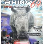 Rhino 69 Sex Pills – 15,000 All Natural Male Enhancement Formula (6 pack)
