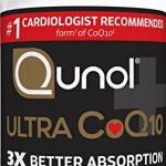 Qunol Ultra 100mg CoQ10, 3x Better Absorption, Patented Water and Fat Soluble Natural Supplement Form of C0Q10, Antioxidant for Heart Health, 30 Count Softgels