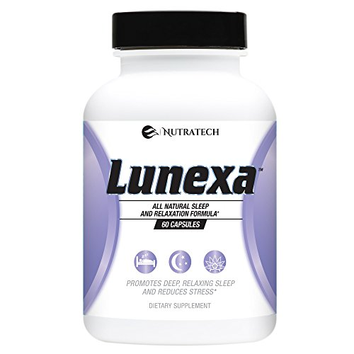 Lunexa – All Natural Daily Sleep Formula for Deep Relaxing Sleep and Stress Relief