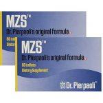 Melatonin MZS Sleep Disorder & Reversal of Macular Degeneration 120 Count (2 Pack Set) (2 Pack – 120 Capusles)