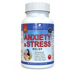 Anti Anxiety and Stress Relief Supplement by Natural Biomedical – All Natural Calming and Relaxing Pills for Daily Use – 60 Veggie Capsules