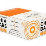 HEALTH WARRIOR Chia Bars, Chocolate Peanut Butter, Gluten Free, 25g bars, 15 Count