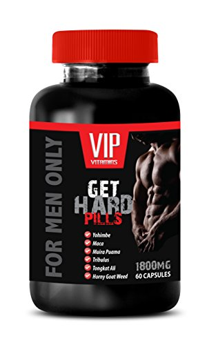 Increase sexual drive for men - GET HARD PILLS (FOR MEN ONLY) - Yohimbine plus - 1 Bottle 60 Capsules