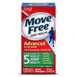 Move Free Advanced Plus MSM, 120 tablets – Joint Health Supplement with Glucosamine and Chondroitin (Pack of 2)