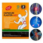KONGDY Hot Capsicum Plaster Pain Relief Patch Large 30 Packs(7*10CM) (30pcs)