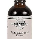 Milk Thistle Seed Alcohol-Free Liquid Extract 4 fl oz-240 doses Greenbush 100% Natural Bio-Chelated* to Support Liver Function. Free Shipping!