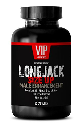 Male enchantment pills increase size - LONGJACK SIZE UP 2170Mg - MALE ENHANCEMENT SUPPLEMENT (With Maca, Tongkat Ali, L-Arginine, Ginseng and Zinc) - 1 Bottle 60 Capsules
