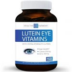 Best Lutein Eye Vitamins (NON-GMO) – Vision Support Supplement for Dry Eyes & Vision Health Care – Bilberry – Proudly Made in the USA – 100% Money Back Guarantee – 60 Capsules