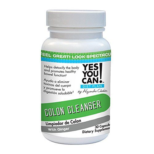 Yes You Can! Diet Plan: Colon Cleanser 30 Capsules