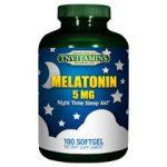 Melatonin 5 Mg – 120 Softgels