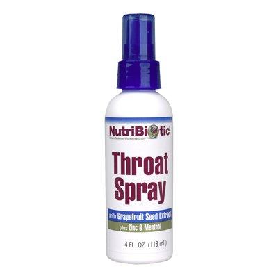 Nutribiotic Throat Spray, 4 Fluid Ounce