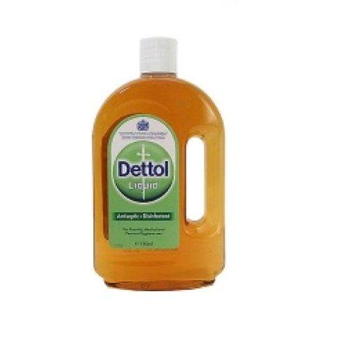 Dettol  Antiseptic Liquid from England 750ml Bottle (Pack of 2)