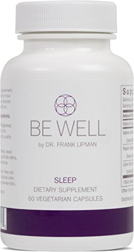 Be Well by Dr. Frank Lipman | Sleep Formula | Helps you Fall Asleep and Stay Asleep | Herbal Formula | Natural. Safe. Non-Habit Forming | Non-GMO | Gluten-Free | 60 Capsules
