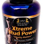 XTREME STUD POWER, Vitality Matters, 2+ INCHES IN 60 DAYS! PENIS ENLARGEMENT PILL, ENLARGEMENT BOOST, IMPROVE STRENGTH MUSCLE GROWTH,HORNY GOAT WEED, INCREASE ENERGY AND STAMINA 100%, MADE IN USA