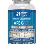 APEX-TX5 Ultra Fat Loss Catalysts 120 Tablets For Maximum Energy and Weight Management Control White Blue Red Speck Tablet Dietary Supplement Manufactured in USA