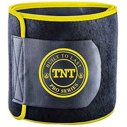 TNT Pro Series Waist Trimmer Weight Loss Ab Belt - Premium Stomach Wrap and Waist Trainer (Original)