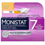 Monistat 7 Simple Cure Feminine Antifungal Cream with RX Strength Cream, 7 Day Treatment Cream for FAST Treatment of Yeast Infections