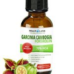 GARCINIA CAMBOGIA LIQUID DROPS PLUS FORSKOLIN – New – Powerful 70% HCA Natural Appetite Suppression Control Liquid Diet – Best Weight Loss Supplements that Work – 2oz Bottle Full 30 Day Supply