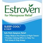 Estroven SLEEP COOL + CALM formulated for Menopause Symptom Relief* – Helps Reduce Hot Flashes and Night Sweats* – Provides Calming Effect to Help You Fall Sleep and Stay Asleep* – 30 Caplets