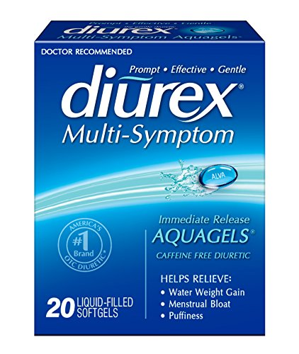 Diurex Multi-Symptom AquaGels, 20 Count
