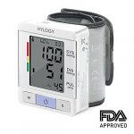 HYLOGY Wrist Blood Pressure Monitor FDA Approved Fully Automatic BP with Irregular Heartbeat Monitoring, Adjustable Wrist Cuff and Portable Case Perfect for Health Monitoring