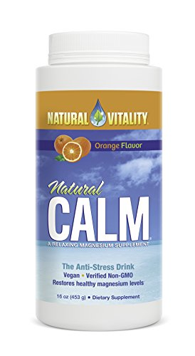 Natural Vitality Natural Calm, Orange, 16 Ounce