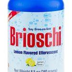 Brioschi Effervescent 8.5oz Bottle The Original Lemon Flavored Italian Effervescent – 1 Bottle