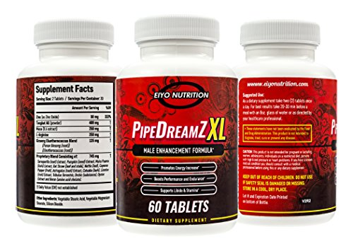 Male Enhancement Pills Natural - Testosterone Booster, Larger Penis, Thicker Enlargement Formula, Best Sexual Control, For Huge Man, Male Enhancing Pill, Enhancing Pills, Zappa Nutrition PipeDreamZ XL