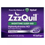 Vicks ZzzQuil Nighttime Sleep Aid LiquiCaps 48 ct, Package May Vary