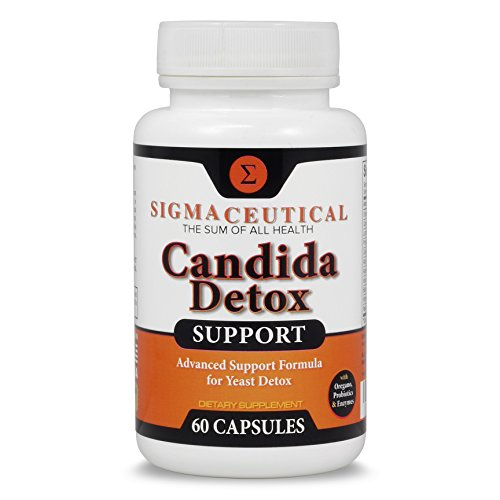 Candida Cleanse - Yeast Infection Treatment - Oral Thrush Treatment - Organic Probiotic Support - Ultimate Cleanser for Men and Women - Free Candida Diet eBook - 60 Capsules
