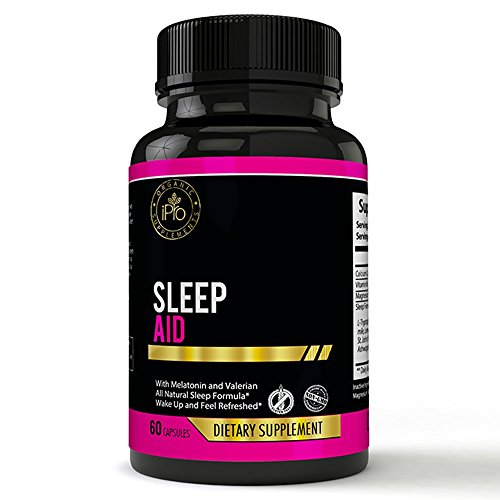 SLEEP AID all natural, herbal supplement, sleep formula Relaxing & Calming Blend for insomnia, sleep disorders, pain relief,reduce anxiety, falling and staying asleep NO side effects.iPro Organic