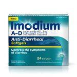 Imodium A-D Diarrhea Softgels, 24 count