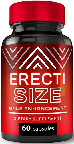 ErectiSize - Male Enhancement Pills - Increases Men's Hardness, Drive, Libido - Boosts Size Guaranteed!