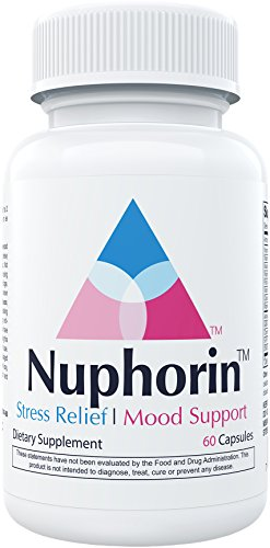 Nuphorin Anxiety Relief :: #1 Fast-Acting Anxiety Supplement for Anxiety, Stress Relief and Panic (60 Capsules) :: 12 Powerful, Professional-Grade Ingredients :: 100% Money-Back Guarantee