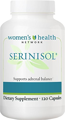 Women's Health Network Serinisol - Cortisol Control - Stress Management and Adrenal Support (1 Bottle)