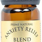 Anxiety Relief Essential Oil Blend 10ml – 100% Natural Pure Undiluted Therapeutic Grade for Aromatherapy, Scents & Diffuser – Depression, Stress Relief, Relaxation, Boost Mood, Uplifting, Calming