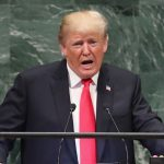 Trump's speech puts him at odds with the UN