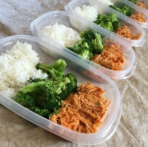 sample meal prep plan