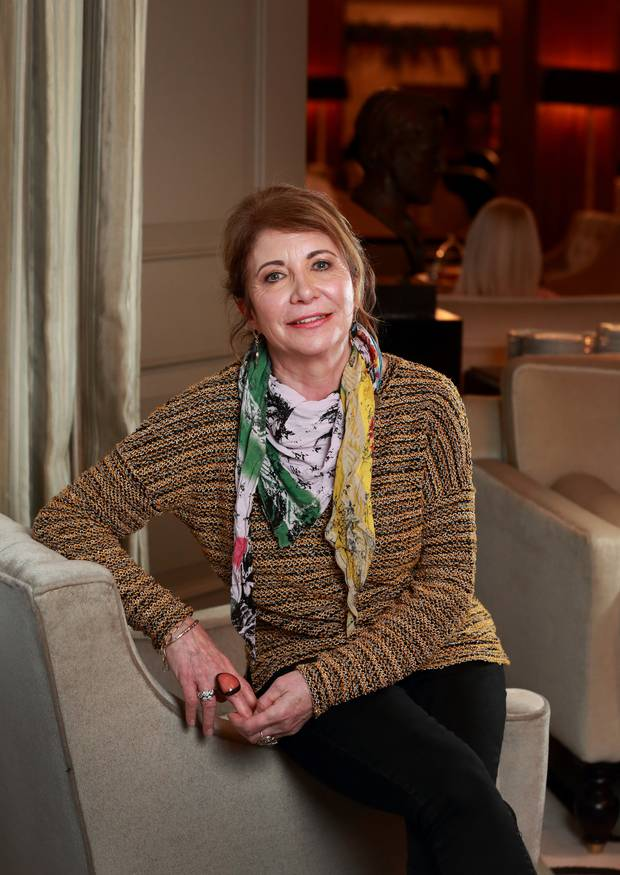 Sharon Hutchinson (62) says it took a long time for her mother to come to the realisation that she needed to quit drinking. Picture: Frank McGrath at the Westbury Hotel, Dublin