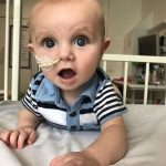 Baby born without an immune system is finally allowed home