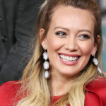 Hilary Duff Dyed Her Hair Icy Platinum Blonde for Winter