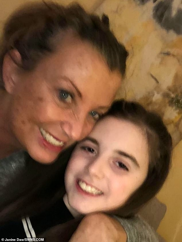 Grace's condition has baffled doctors, and Ms Dawn has said she has been called a 'paranoid mother' by nurses. She has taken the issue into her own hands to solve the problem
