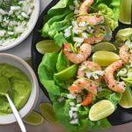 Easy Paleo Shrimp Taco