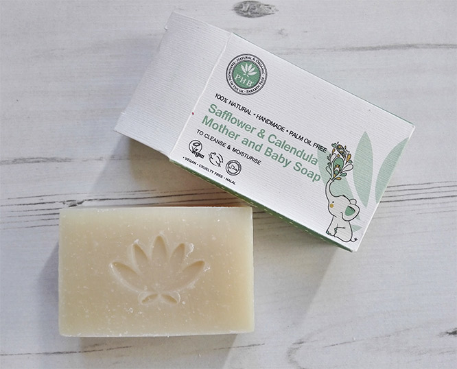 PHB Ethical Beauty Safflower Calendula Soap